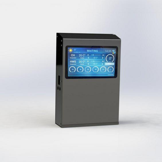 Автоматика для твердотопливных котлов AIR TOUCH опт и розница в Мукачево, Тернополе, Ужгороде